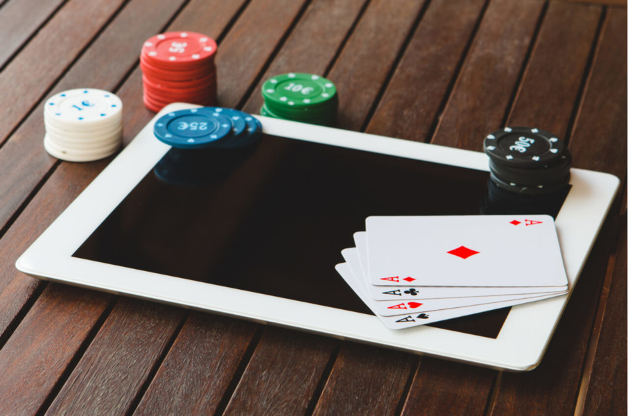 online gambling company stock